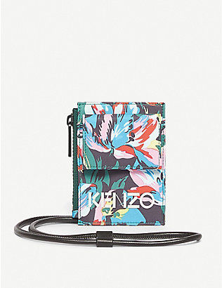 KENZO: Kenzo X Vans floral-print cross-body bag
