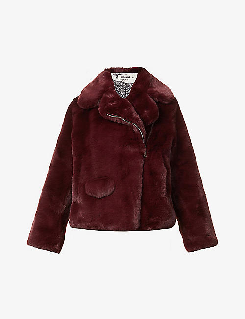 ZADIG&VOLTAIRE: Freeze faux-fur coat