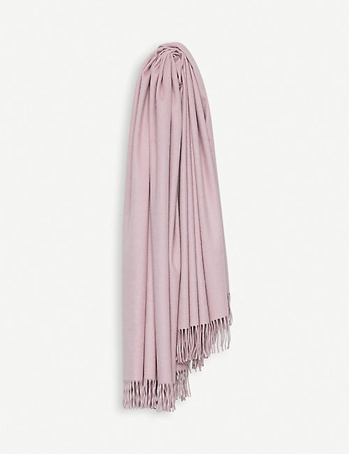 BEGG X CO: Arran cashmere throw 147cm x 183cm