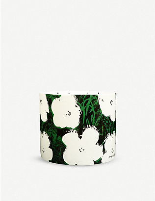 LIGNE BLANCHE: Flowers porcelain scented candle 1.5kg