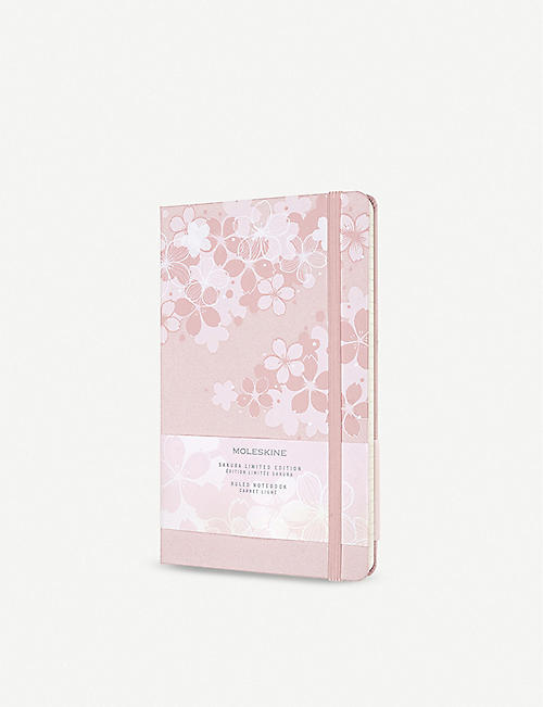 MOLESKINE: Sakura ruled hardcover notebook 21x13cm