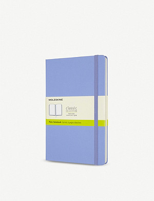 MOLESKINE Classic collection plain hardcover notebook 21x13cm