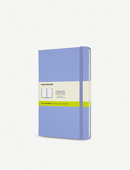 MOLESKINE: Classic collection plain hardcover notebook 21x13cm