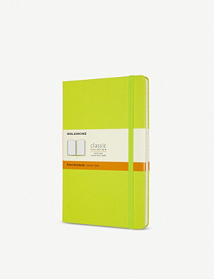 MOLESKINE Classic collection ruled hardcover notebook 21x13cm