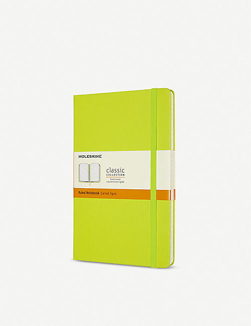 MOLESKINE: Classic collection ruled hardcover notebook 21x13cm