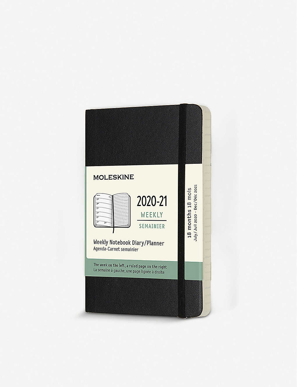 MOLESKINE: 18-month soft-cover weekly pocket planner