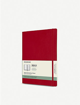 MOLESKINE: 18-month soft-cover weekly planner 25cm x 19cm