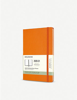 MOLESKINE: 18-month hard-cover weekly planner 21cm x 13cm