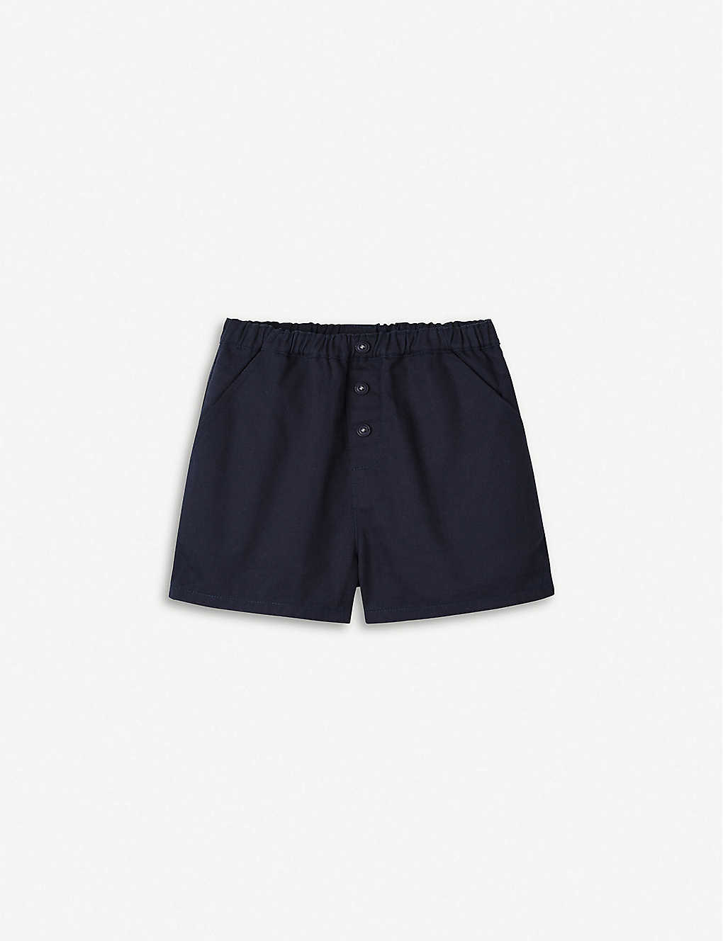 THE LITTLE WHITE COMPANY: Summer cotton shorts 0-24 months