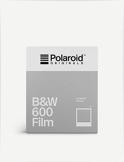 THE CONRAN SHOP: The Impossible Project Polaroid 600 black and white film pack of eight