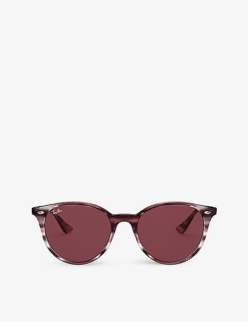RAY-BAN: RB4305 phantos-frame acetate sunglasses