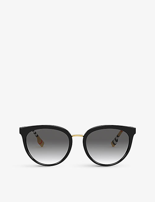 BURBERRY: BE4316 phantos-frame acetate sunglasses