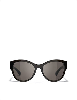 CHANEL: CH5434 Pantos butterfly-framed sunglasses