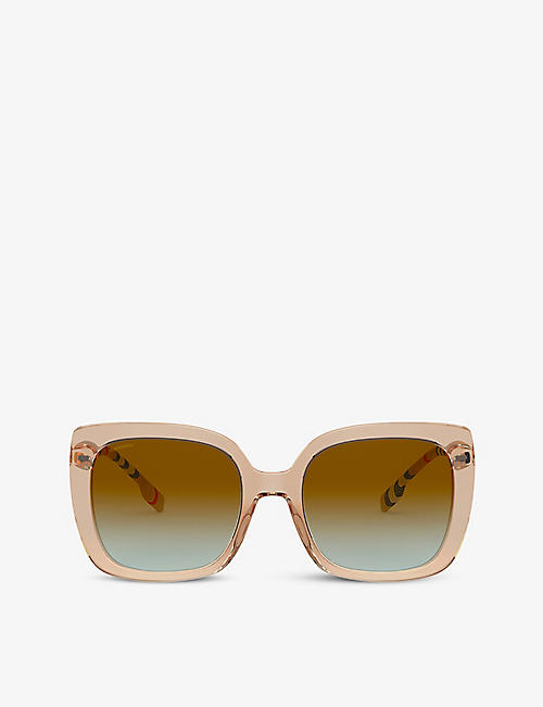 BURBERRY: BE4323 square-frame sunglasses