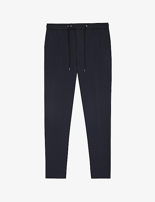 REISS: Flexo slim stretch-jersey trousers