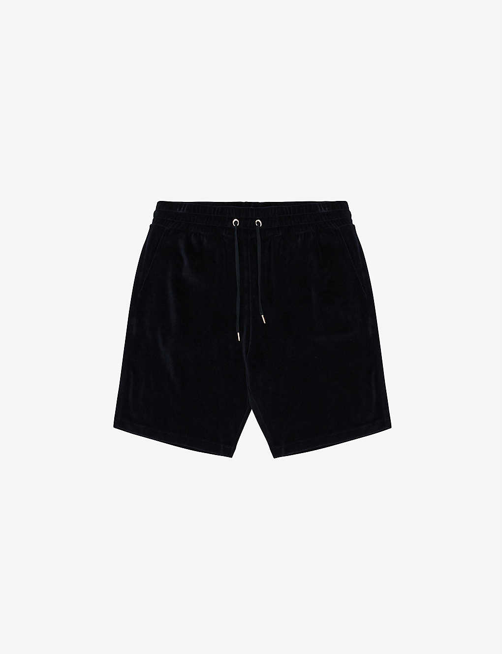 REISS: Akin slim-fit cotton-towelling shorts