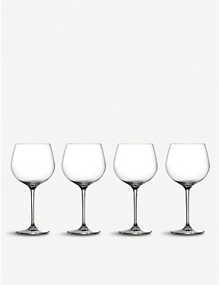 WATERFORD: Marquis Moments crystal-glass gin glasses set of four