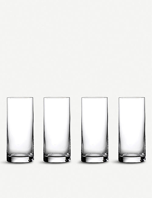 WATERFORD: Marquis Moments crystal-glass highball glasses set of four