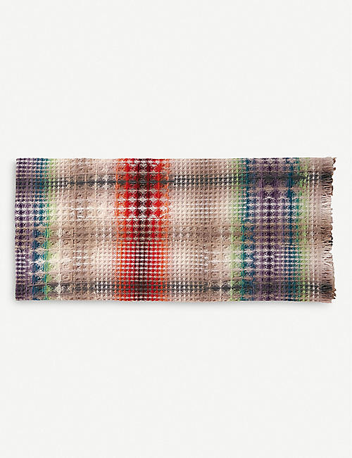 MISSONI HOME: Yann wool and cashmere-blend throw 130cm x 190cm