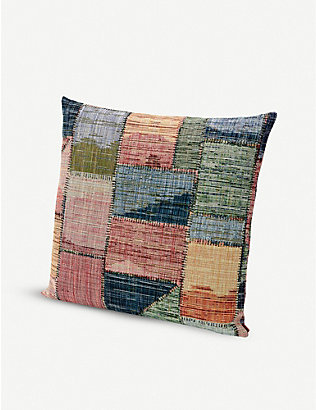MISSONI HOME: Yellowstone jacquard cushion 60cm x 60cm