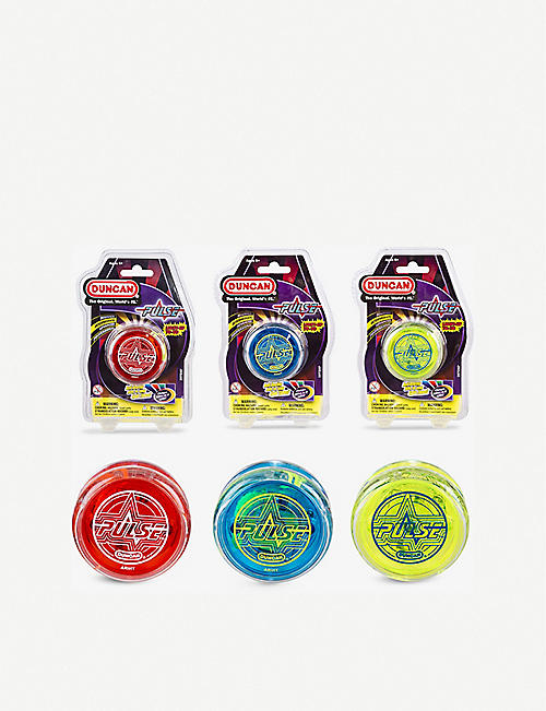 WICKED: Duncan Pulse Light Up Yo Yo assortment