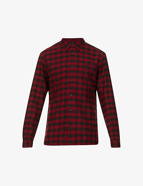 ALLSAINTS: Chetco checked cotton shirt