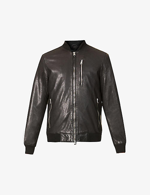 ALLSAINTS: Boyton leather bomber jacket