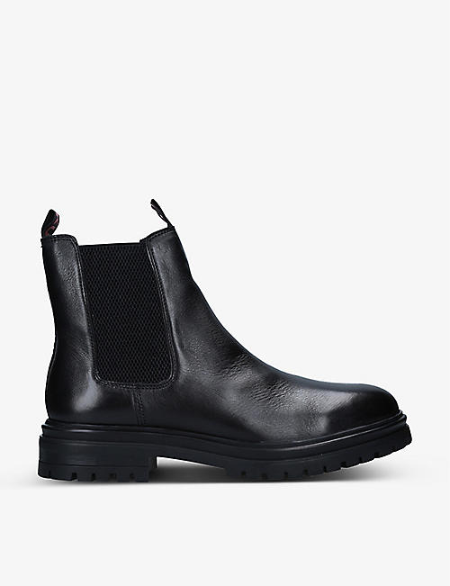 KG KURT GEIGER: Legion leather Chelsea boots