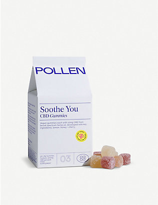 POLLEN: Soothe You CBD gummies 180g