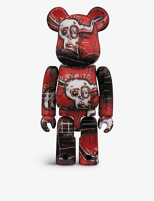 BE@RBRICK: Basquiat #5 100% and 400% figures set of two