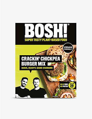 BOSH: Crackin' Chickpea Burger Mix 120g