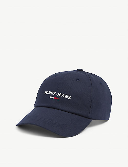TOMMY HILFIGER: Logo-embroidered organic-cotton baseball cap