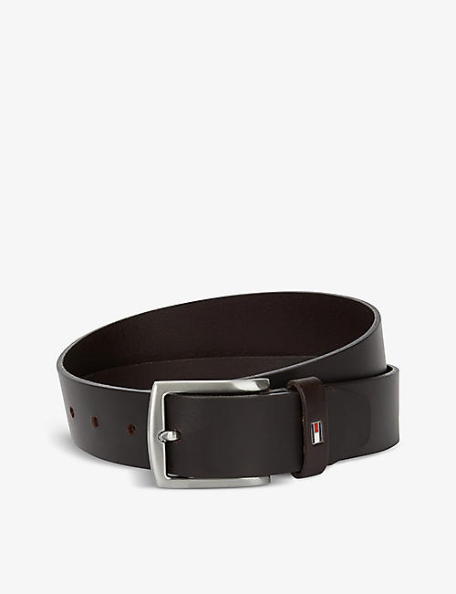 TOMMY HILFIGER: New Denton 3.5 leather belt