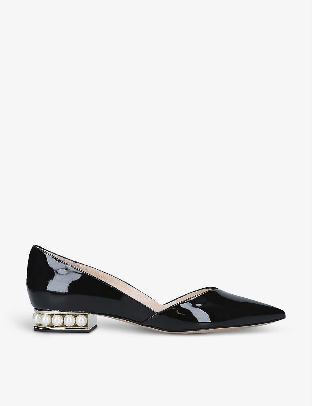 NICHOLAS KIRKWOOD: Casati pearl-detail leather loafers