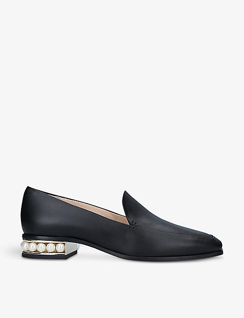 NICHOLAS KIRKWOOD: Casati leather moccasin loafers