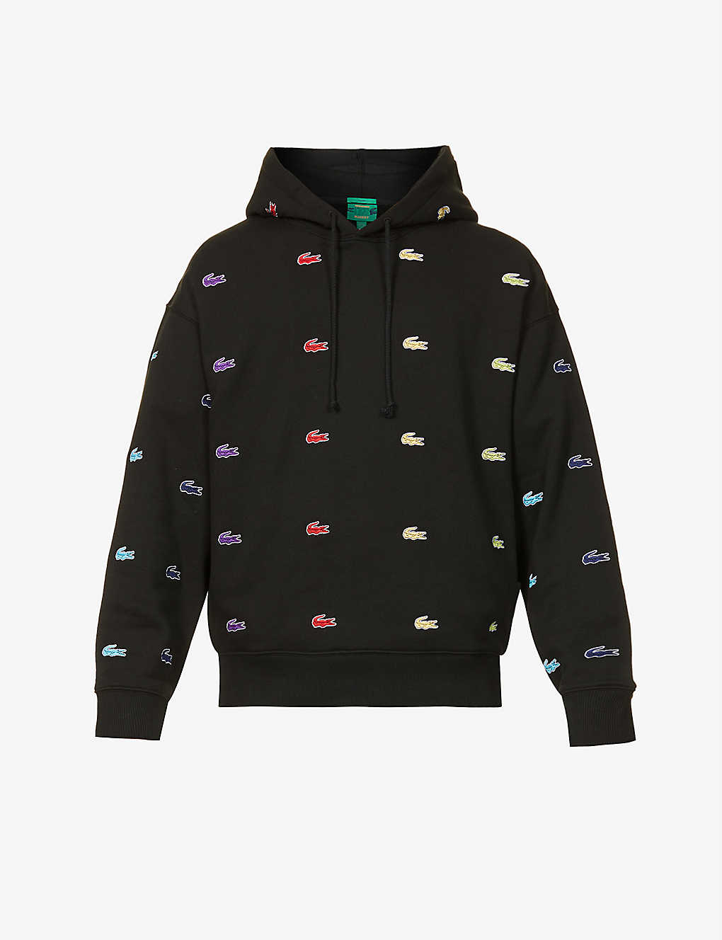 LACOSTE: Lacoste x Chinatown Market logo-embellished cotton-jersey hoody