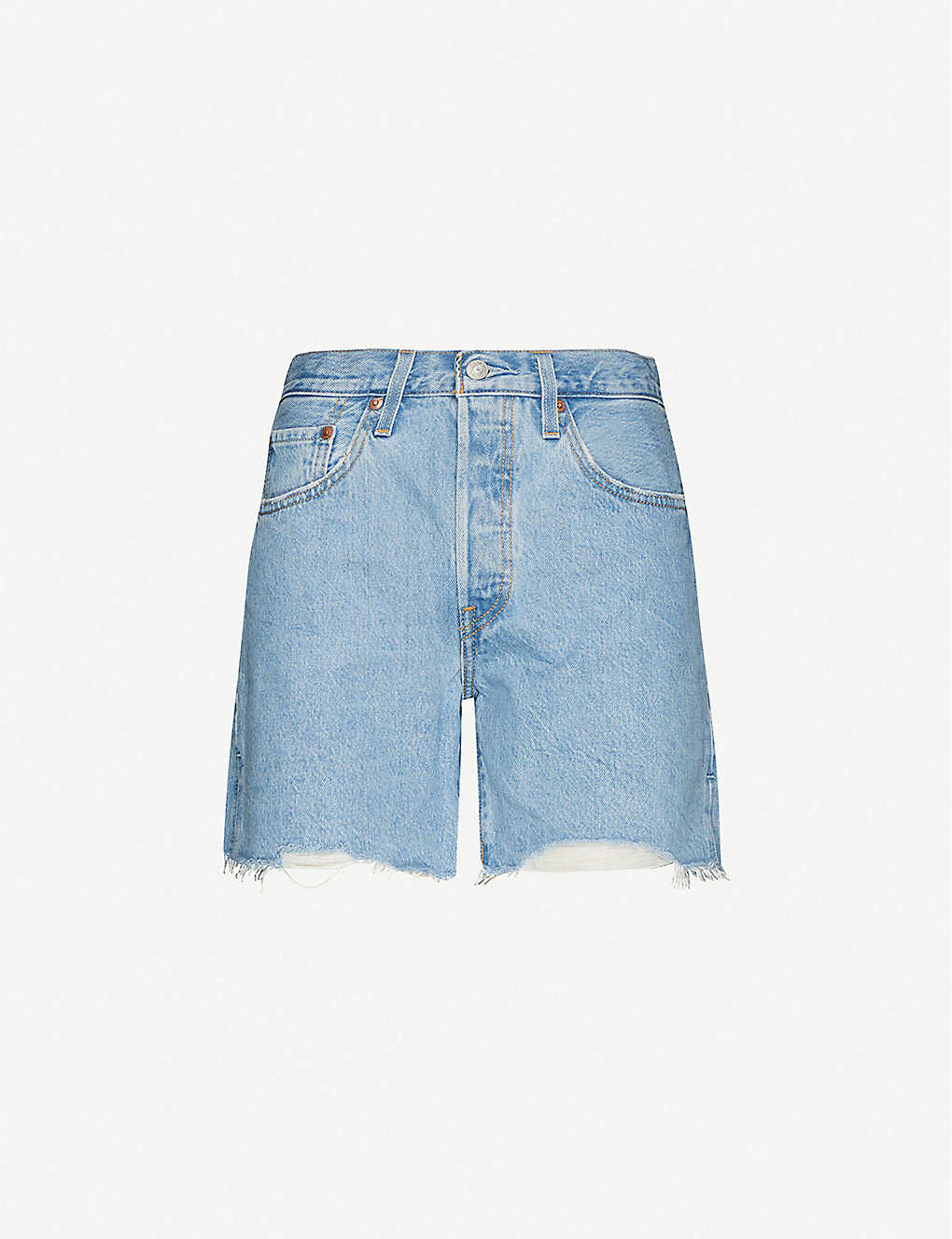 LEVIS: 501 high-rise denim shorts