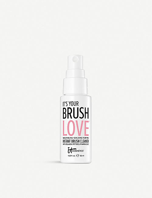 IT COSMETICS: Brush Love travel-sized brush cleaner 30ml