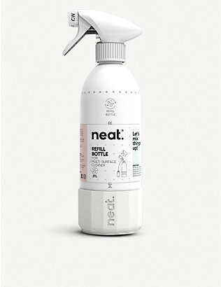 NEAT: Multi-Surface Cleaner aluminium and silicone refill bottle 500ml