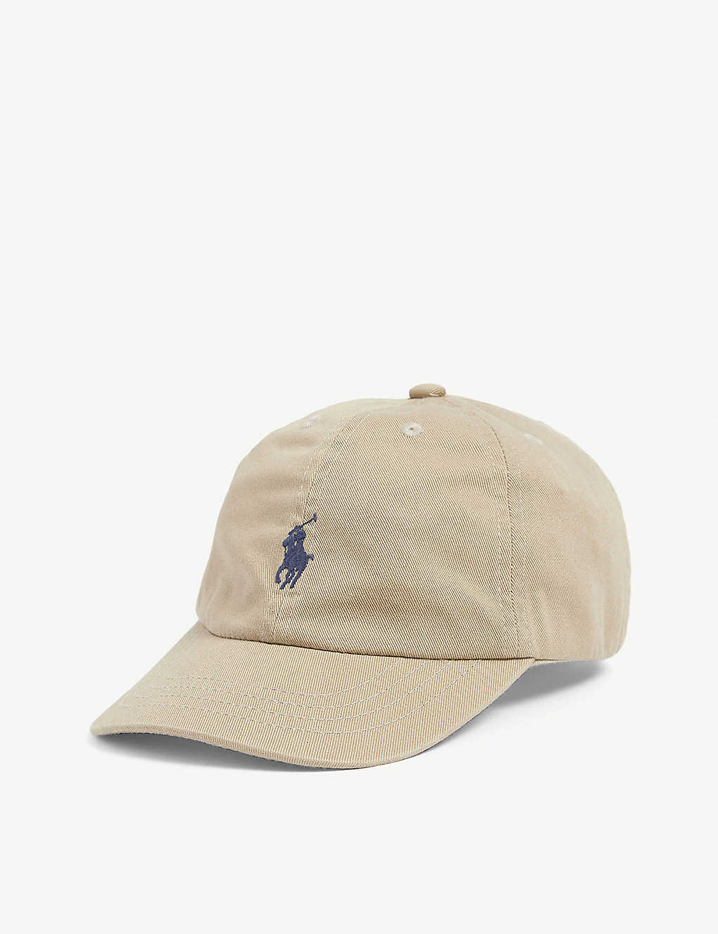 RALPH LAUREN: Kids logo-embroidered cotton baseball cap one size