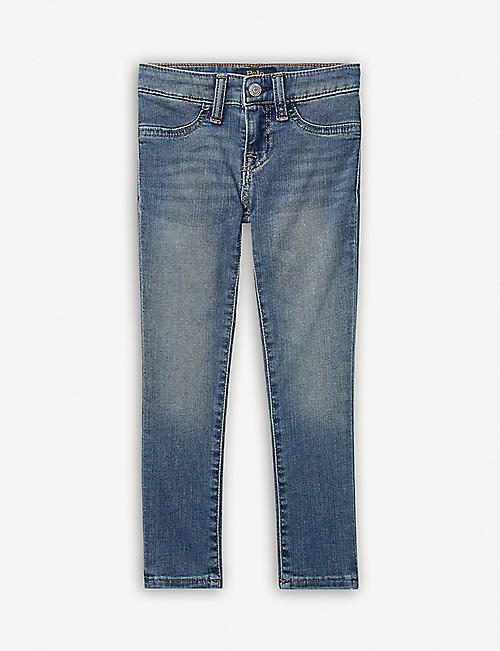 RALPH LAUREN: Aubrie straight-leg mid-rise jeans 2-16 years