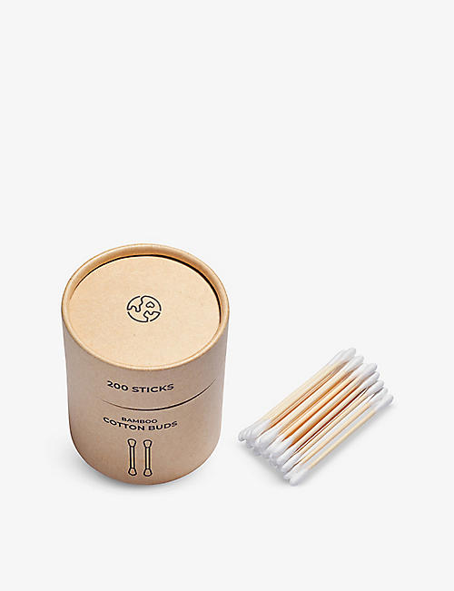 ZERO WASTE CLUB: Organic bamboo cotton buds pack of 200