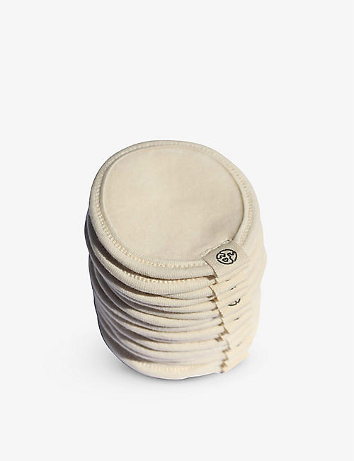 ZERO WASTE CLUB: Organic cotton make-up remover pads set of 16