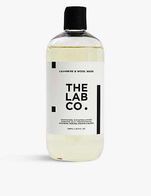 THE LAB CO: Cashmere & wool wash 500ml