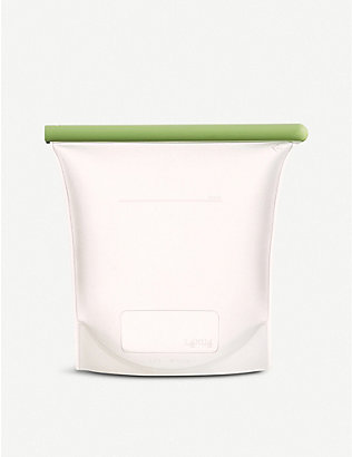 LEKUE: Reusable silicone food bag 1.5L