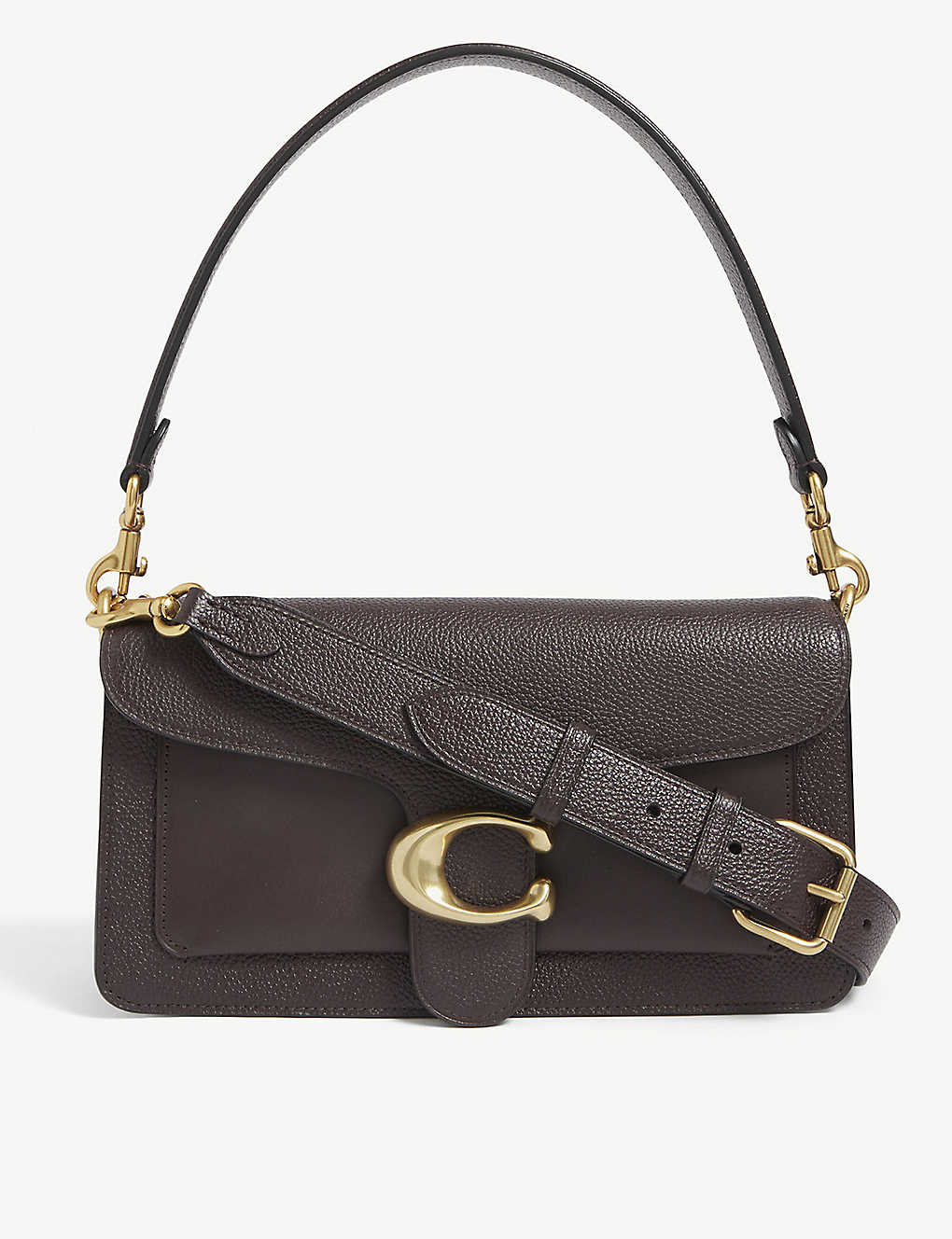 COACH: Tabby small leather shoulder bag