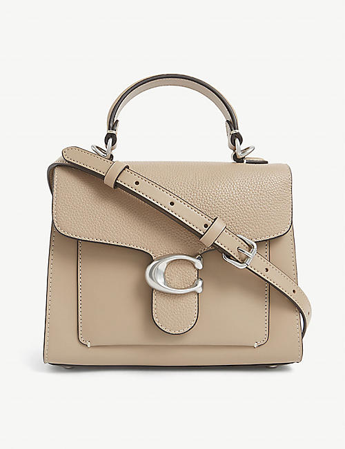 COACH: Tabby top-handle leather tote bag