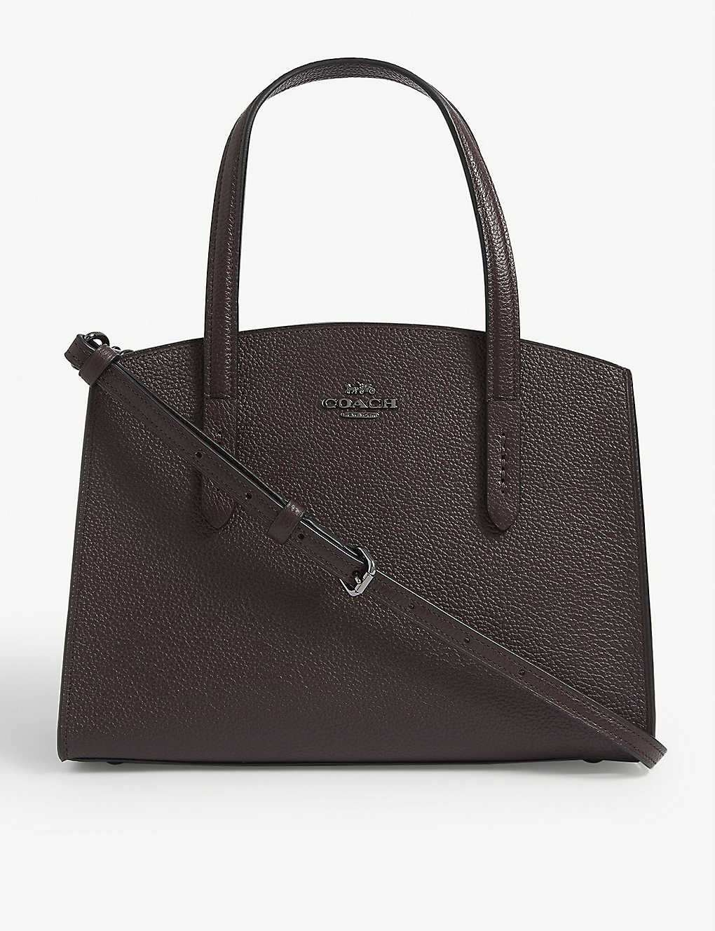 COACH: Charlie small leather tote bag
