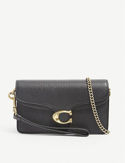 COACH: Tabby pebbled leather cross-body bag