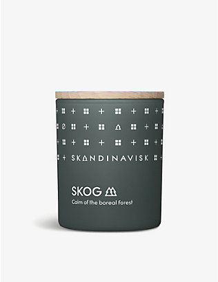 SKANDINAVISK: SKOG scented candle with lid 65g